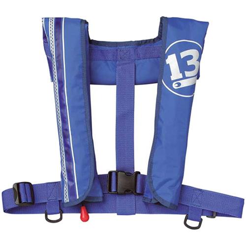 ブリーデン BREADEN 釣り ライフジャケット インフレータブルジャケット 自動膨張タイプ ブルー 3030