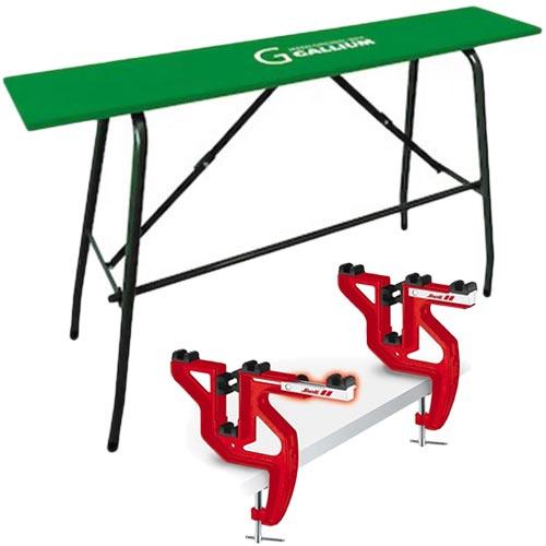 ガリウム GALLIUM スノーボード ワクシング テーブル&スノーリー SNOLI バイス 2点セット 000107