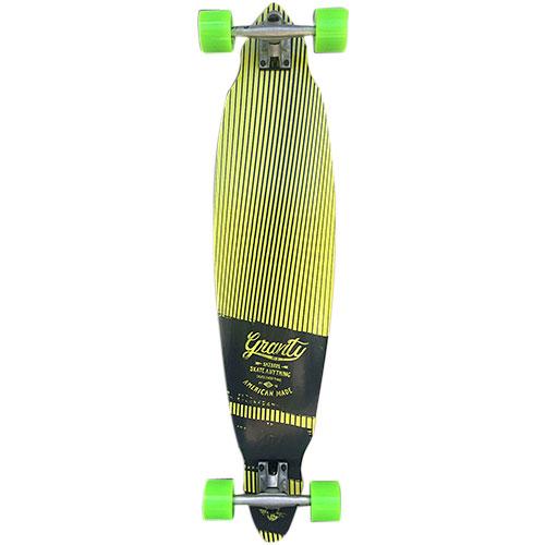 グラビティ GRAVITY スケートボード コンプリート mini pintail 40 ミニピンテール 40 イエロー G-PT40