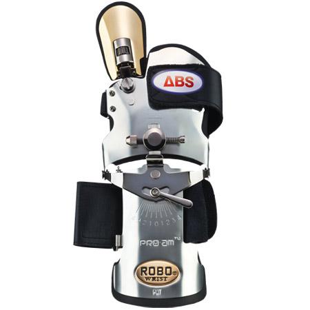 アメリカン ボウリング サービス ABS ロボリスト ゴールドフィンガー ゴールド/ステンレス 右用 GS