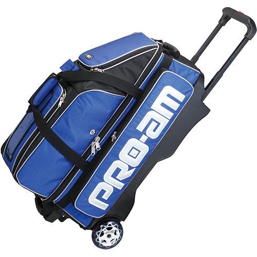 アメリカンボウリングサービス ABS ボウリング 3個入れ Tキャスターバッグ ブルー B17-2200