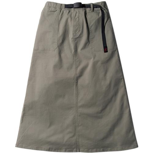 グラミチ GRAMICCI レディース ベイカースカート BAKER SKIRT KHAKI GREY 9301-FDJ