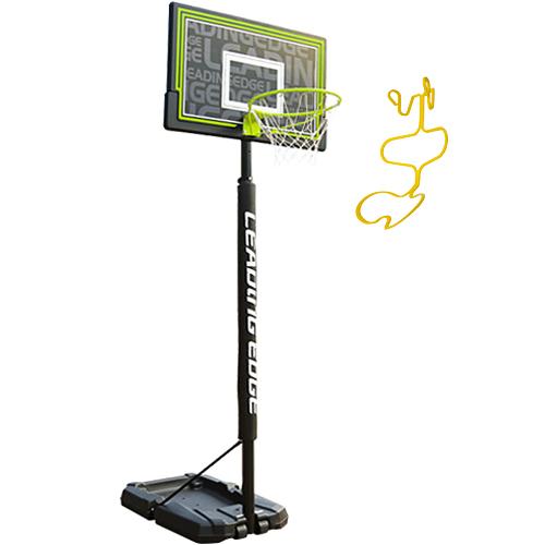 リーディングエッジ バスケットボール ゴール&SPALDING リターンセット ST LE-BS305ST/8352S
