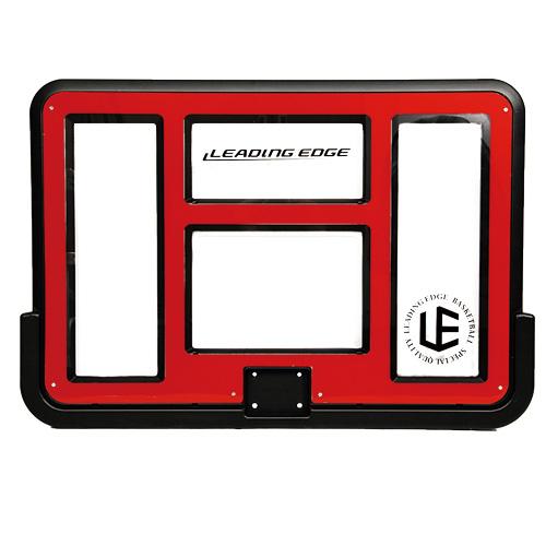 バスケットゴール交換用パーツ 単品 安心の定価販売 リーディングエッジ バスケットボール ゴール 専用バックボード セール特価 クリア LE-BS305R