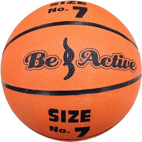 バスケ ボール 今ダケ送料無料 ギフト 部活 ストバス 中学生以上 ビーアクティブ ゴムバスケットボール Active Be BA-5144 7号