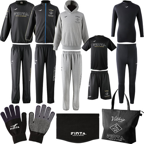 フィンタ FINTA サッカー メンズ 福袋 2019 豪華13点セット ハッピーバッグ HAPPY BAG ブラック FT7429A