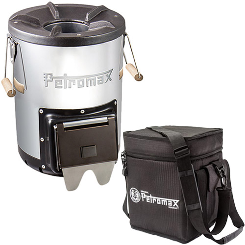 ペトロマックス Petromax ロケットストーブ r33 & 専用ケース 2点セット 12667/12724
