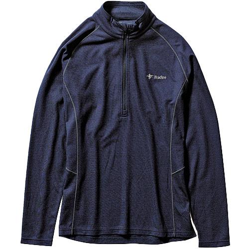 フォックスファイヤー Foxfire メンズ TSウールハーフジップ TS Wool Half Zip ネイビー 5215001 046