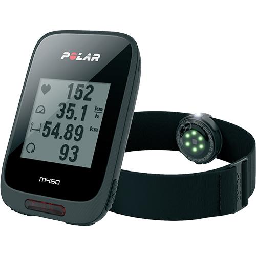 ポラール Polar GPSサイクルコンピューター M460 + OH1心拍計セット GPS内蔵/心拍センサー付/日本語対応 90069011
