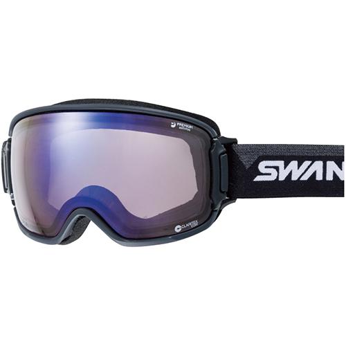 スワンズ SWANS メンズ レディース スノーボード ゴーグル RL-CU/MDH-SC-PAF ULTRA調光レンズRIDGELINE メガネ対応 ブラック×グレイ 3010072253379
