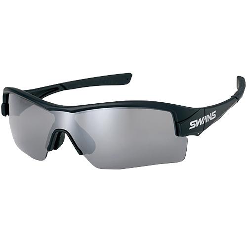 スワンズ SWANS ストリックス エイチ STRIX・H-M MBK シルバーミラー×スモーク STRIX H-0701