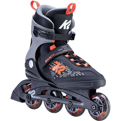 ケーツー K2 メンズ インラインスケート キネティック KINETIC 80 ブラック/レッド I200200501