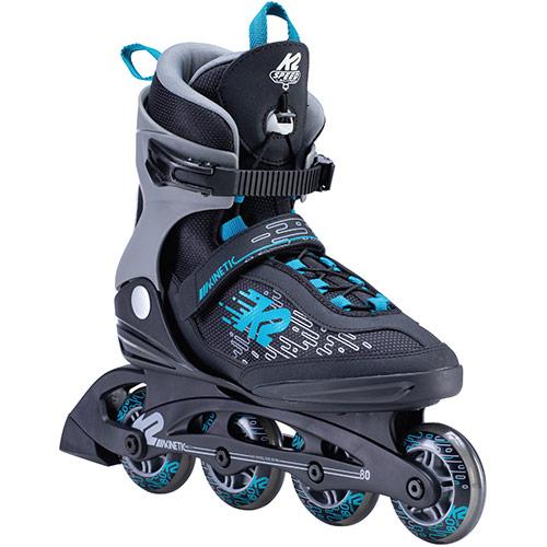 ローラースケート 大人用 ケーツー K2 日時指定 在庫処分 メンズ インラインスケート キネティック 80 I200200701 PRO KINETIC ブラック ブルー