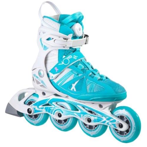 ケーツー K2 レディース インラインスケート VO2 90 BOA ブイオーツ― 90 ボア ホワイト/ブルー I160201101
