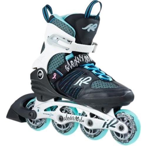 ケーツー K2 レディース インラインスケート ALEXIS ALU アレクシス ブラック/ホワイト/ブルー I170201201
