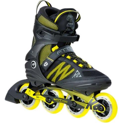 今季一番 ケーツー 84 K2 メンズ インラインスケート メンズ F.I.T. PRO I170201301 84 エフアイティー 84 ブラック/イエロー I170201301, 鹿児島ふるさとアイショップ店:575012dc --- canoncity.azurewebsites.net