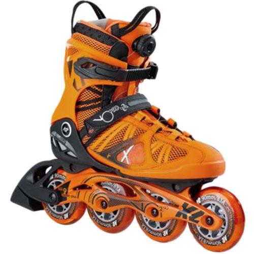 ケーツー K2 メンズ インラインスケート VO2 90 BOA ブイオーツ― 90 ボア オレンジ I170201801