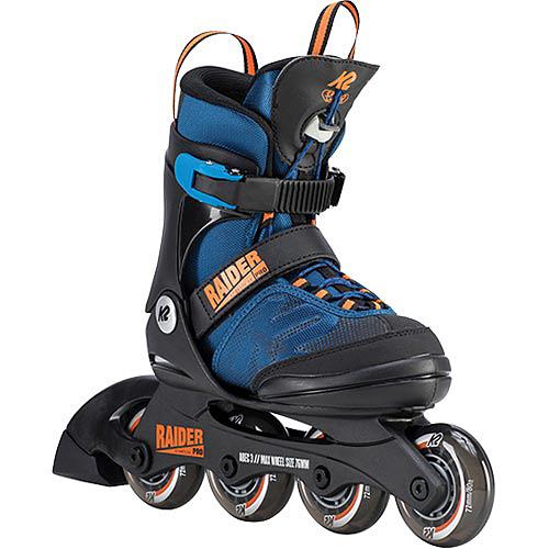 ケーツー K2 ジュニア インラインスケート レイダー プロ RAIDER PRO ブルー/オレンジ I190200301 キッズ