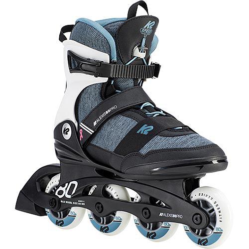 ケーツー K2 レディース インラインスケート アレクシス プロ ALEXIS PRO スチールブルー I190200801
