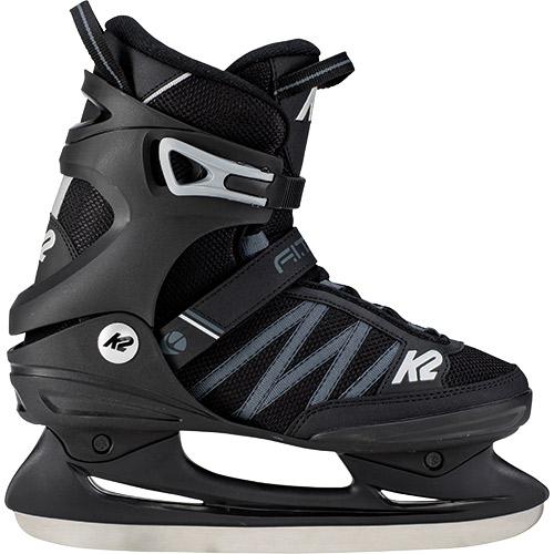 【10/10限定!エントリー&カード決済でP+11倍】ケーツー K2 メンズ アイススケート フィギュアスケート スケート靴 F.I.T. ICE ブラック/グレー I180300301