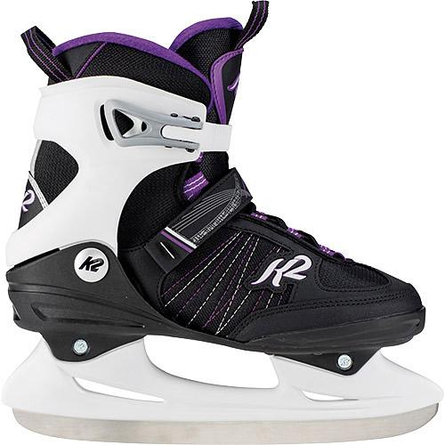 【10/10限定!エントリー&カード決済でP+11倍】ケーツー K2 レディース アイススケート フィギュアスケート スケート靴 ALEXIS ICE ブラック/グレー/ラベンダー I180300401