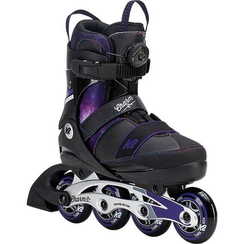 ケーツー K2 CHARM Boa チャーム ボア ジュニア インラインスケート I180201201 キッズ