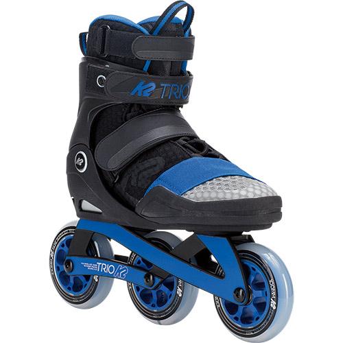 ケーツー K2 TRIO トリオ インラインスケート ブラック/ブルー I180202401