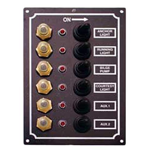 ビーエムオージャパン BMO JAPAN LEDスイッチパネル 6連 C91338 インテリア