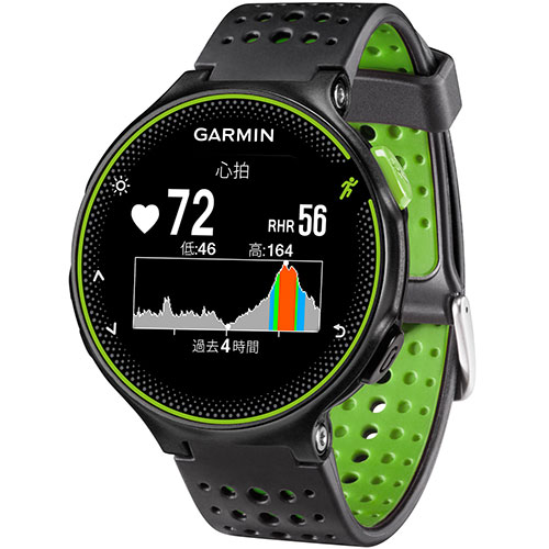 ガーミン GARMIN ForeAthlete 235J BlackGreen 日本正規品 37176K