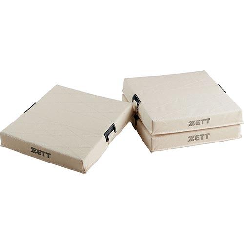 ゼット ZETT 野球 野球用 少年 軟式 フトンベース 3枚1組 ZBV127