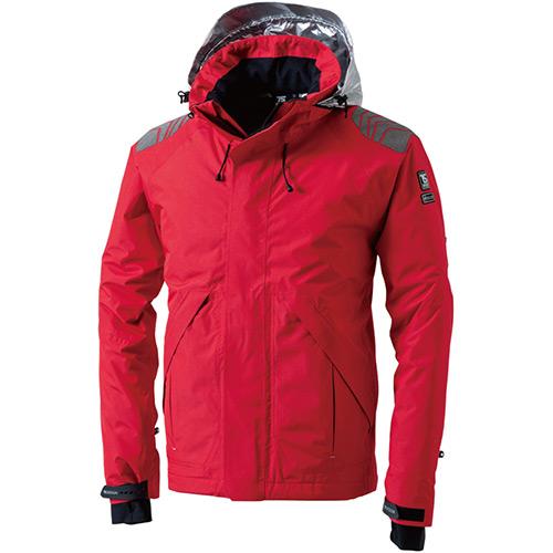 ティーエスデザイン TS DESIGN メンズ レディース メガヒート ES 防水防寒 ジャケット レッド サイズ3L~4L 18246 75