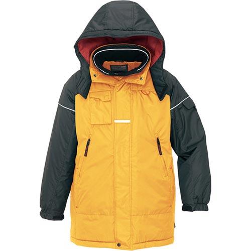 オンリーアイトス ONLY-AITOZ メンズ 防寒コート イエロー×ブラック 6060