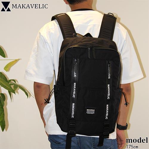 マキャベリック MAKAVELIC クアドラングル デイパック ブラック 3109 10106