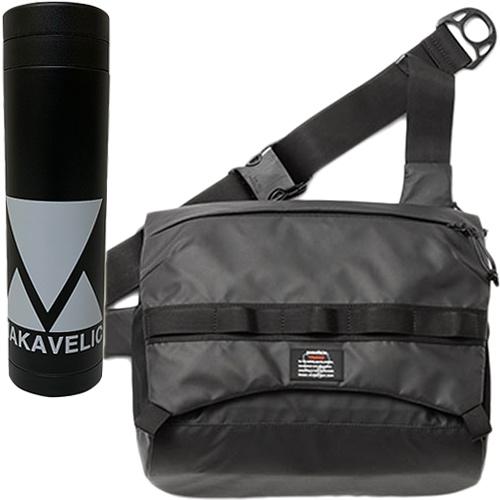 マキャベリック MAKAVELIC トラックス ライズ ショルダーバッグ TRUCKS RAISE SHOULDER BAG ブラック 3109-10513/MV BTL