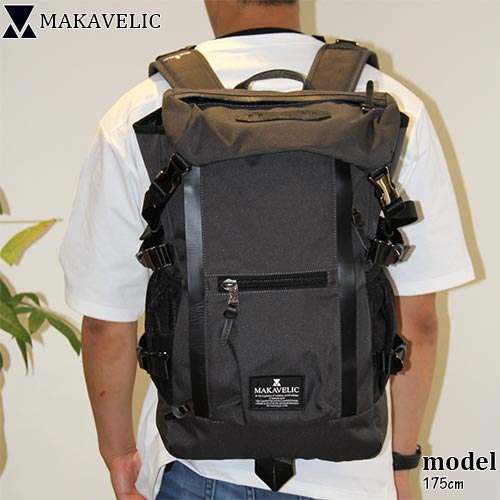 マキャベリック MAKAVELIC CHASE DOUBLE LINE BACKPACK ダブルライン バックパック DARKGRAY 3106-10107