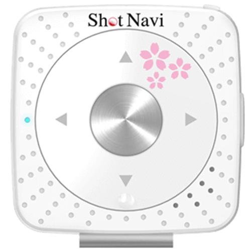 ショットナビ SHOT NAVI ゴルフナビ V2 ボイス型 GPS 横峯さくらプロモデル ホワイト