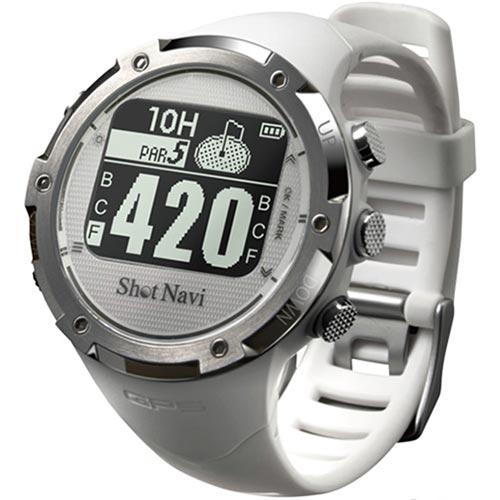 ★500円OFFクーポン配布中★ショットナビ SHOT NAVI ゴルフウォッチ GPSナビ ゴルフナビ 腕時計型 ホワイト W1-GL