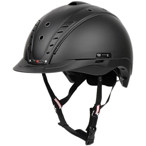 カスコ CASCO 乗馬用 ヘルメット ミストラルII ブラック L-XL/60-63cm 06.4042.XL