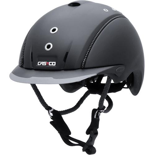 カスコ CASCO 乗馬用 ヘルメット ミストラル ブラック L/59-62cm 17.06.4003.L