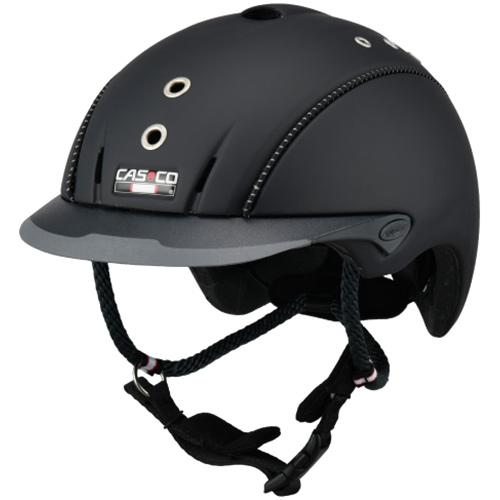 カスコ CASCO 乗馬用 ヘルメット ミストラルフローラ ブラックチタン L/59-62cm 16.06.4018.L
