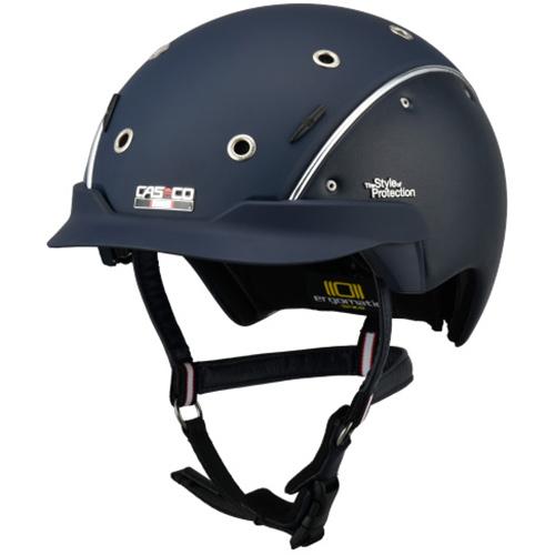カスコ CASCO 乗馬用 ヘルメット スピリット ネイビー L/59-62cm 17.06.7038.L