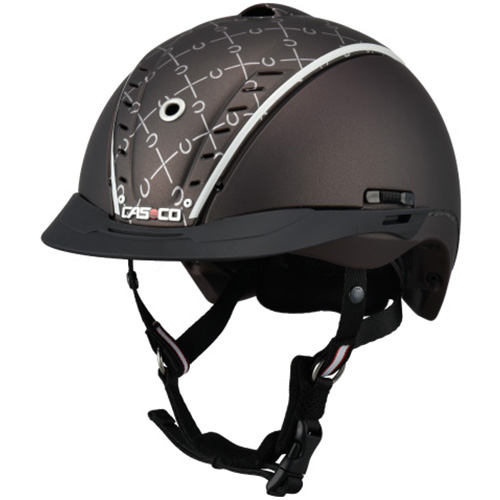 カスコ CASCO ジュニア 乗馬用 ヘルメット チョイス ブラウン 50-54cm 17.06.1563.U ジュニア キッズ