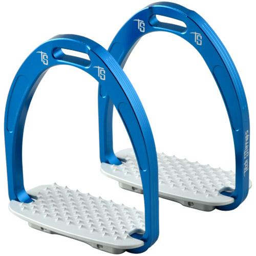 テック スティアラップ TECH STIRRUPS 乗馬 アテナジャンパー鐙 ブルー 469614BLUE475