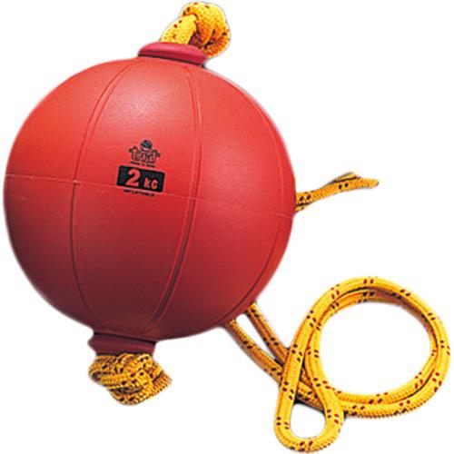 ニシスポーツ NISHI スウィングメディシンボール ゴム製 2kg T5912