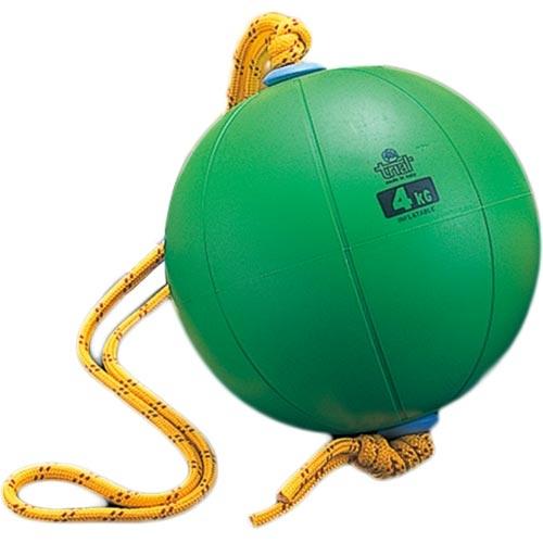 ニシスポーツ NISHI スウィングメディシンボール ゴム製 4kg T5914