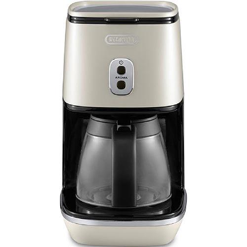 デロンギ DeLonghi ディスティンタコレクション ドリップコーヒーメーカー ピュアホワイト ICMI011J-W