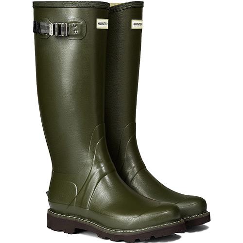 ハンター HUNTER メンズ バルモラル ブーツ ダークオリーブ MFT9015RPO