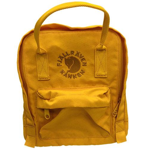 フェールラーベン FJALL RAVEN リ カンケン ミニ バッグ Re-Kanken Mini 142-Sunflower-Yellow 23549