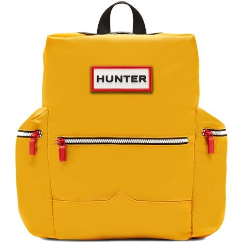 ハンター HUNTER オリジナル トップクリップ バックパック - ナイロン イエロー UBB6017ACD