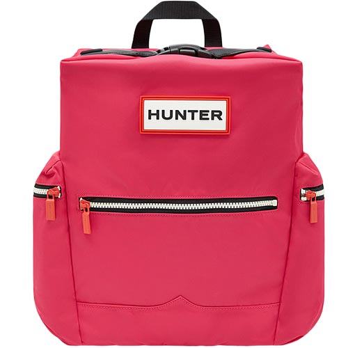 ハンター HUNTER オリジナル トップクリップ バックパック - ナイロン ブライトピンク UBB6017ACD